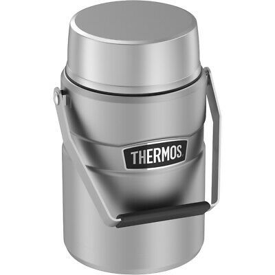 Thermos Stainless King™ Big Boss™  Matte Steel 47oz Food Jar ()