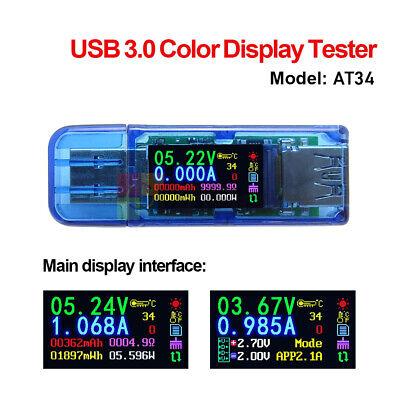 Usb3.0 Lcd Display Voltage Current Power Capacity Meter Tester Voltmeter Ammeter