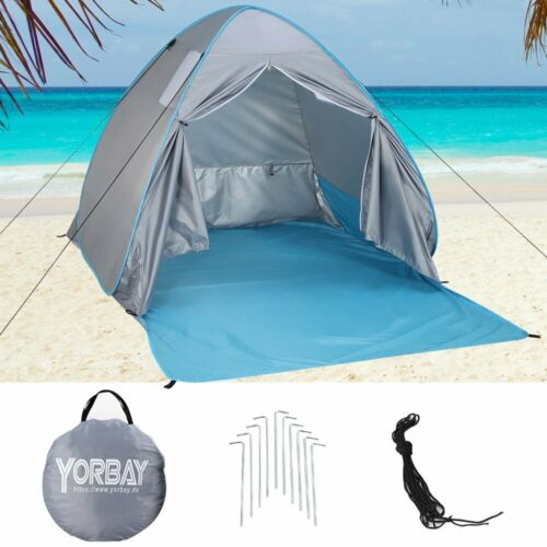 Strandzelt pop-up Strandmuschel Wurfezelt Sonnenschutz mint UV50+ Campingzelt