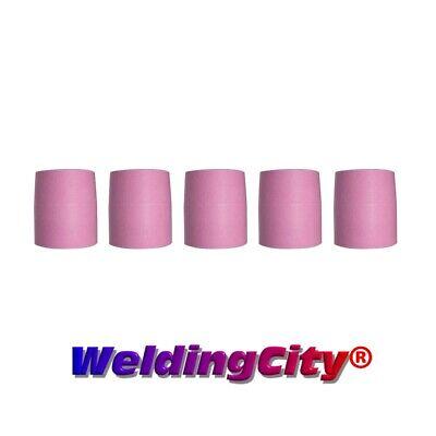 Weldingcity 5-pk Tig Welding Large Gas Lens Ceramic Cup 53n89 15 Us Seller