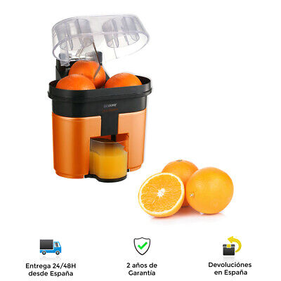 Exprimidor de Cítricos Duo Doble Cabezal 2 Mitades de Naranja a la...