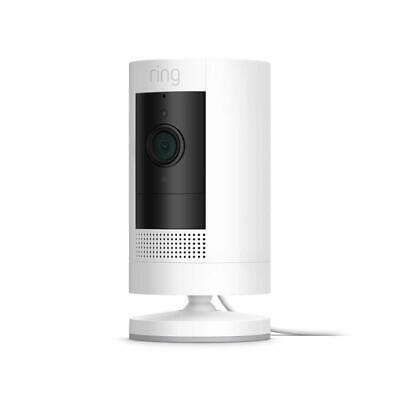 Ring - Stick Up Indoor/Outdoor 1080p Wired Security Camera -