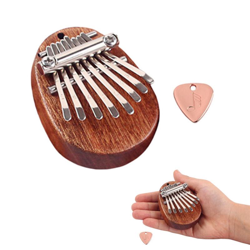 8 Key Mini Kalimba Mahogany Keyboard Thumb Piano Finger Kalimba Instrument