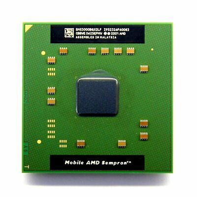 NEW AMD Mobile Sempron 3000+ 1.8GHz Socket/Sockel 754 Laptop CPU SMS3000BQX2LF Amd Mobile