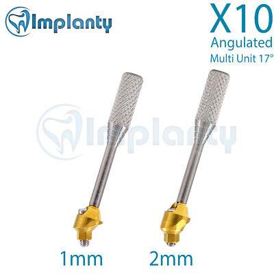 10 Angled Multi Unit Abutment 17 Implant Dental For Ab Alpha Bio Mis Zimmer