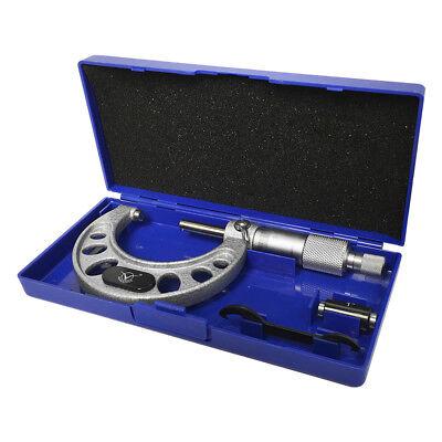 "1-2"" SNK Style Solid Metal Frame Outside Micrometer Digital"