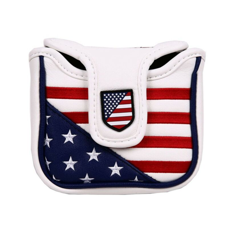 Square Mallet Putter Cover Golf Headcover For TaylorMade Spider Tour Magnet US