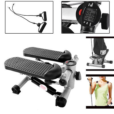 Arm Cord Leg Thigh Toning Fitness Mini Stair Stepper- Gym Exercise Workout