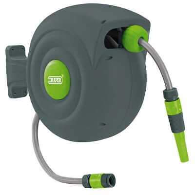 Draper Tools Retractable Garden Hose Reel (20M) - 15046