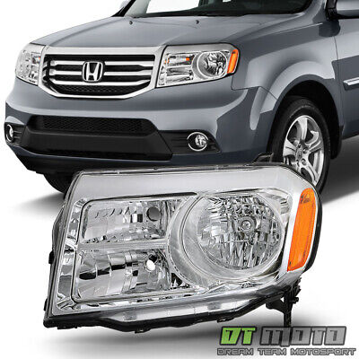 For 2012-2015 Honda Pilot Halogen Replacement Headlights HeadLamp LH Driver Side