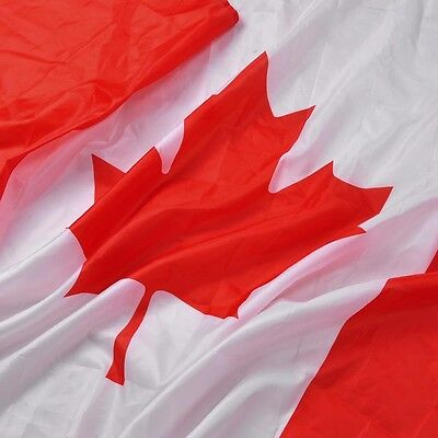 Canadian Flag 3 x 5 ft Polyester Canada Maple Leaf Banner Indoor Outdoor Grommet