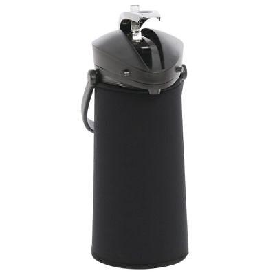 Javasuits 2.2 L Blank Black Neoprene Airpot Cover - 12h