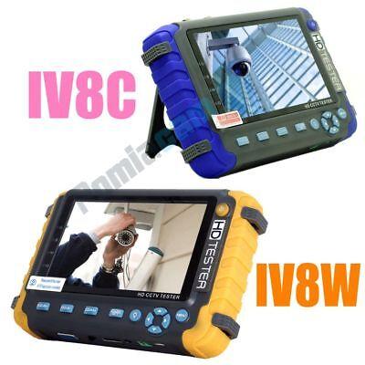 5 Inch Cctv Tester 5mp 4in1 Tvi Ahd Cvi Cvbs Cctv Security Camera Tester Monitor