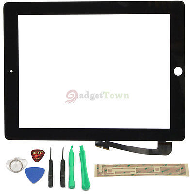 OEM Touch Screen Glass Digitizer Replacement for Apple The New iPad 3 3rd Black on Rummage