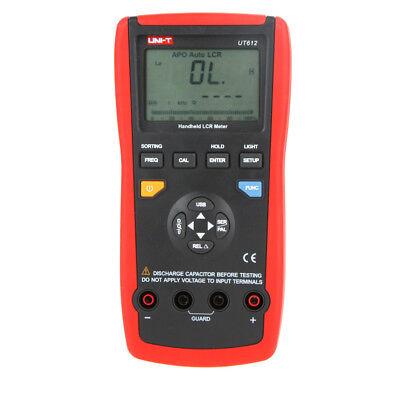 Uni-t Ut612 Handheld Lcr Meter Inductancecapacitanceresistance Tester
