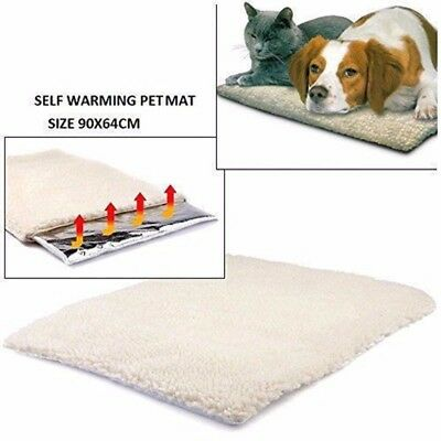 Self Heating Dog Cat Blanket Pet Thermal Blanket Super Soft Beds Mat Supplies