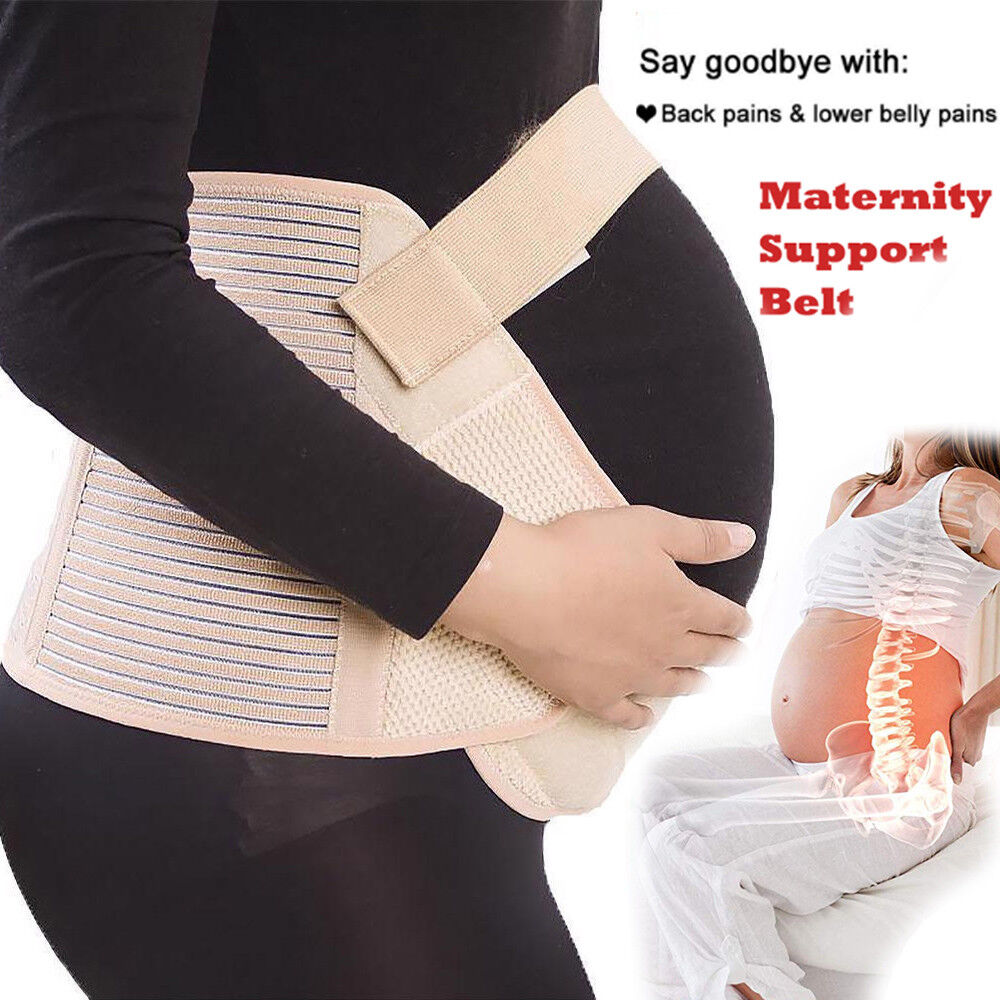 QUALITY Maternity Belt Waist Abdomen Support Pregnant Belly Band Back Brace HG