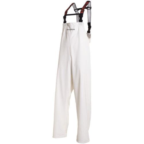 Grundens Petrus 116 Sport Fishing Bib Pants - Rain Gear - WHITE - Select Size
