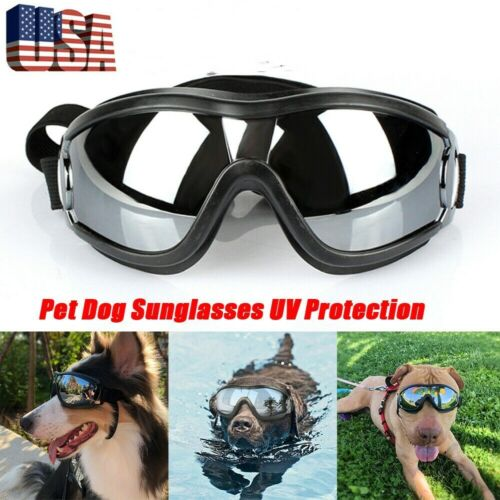 Pet Dog Sunglasses UV Protection Windproof Anti-breaking Goggles Swimming Skate