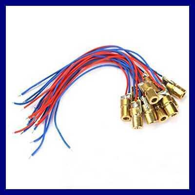 Laser Head Diode Dot Module Wl Red Mini 650 3 Volts Ink Or Toner