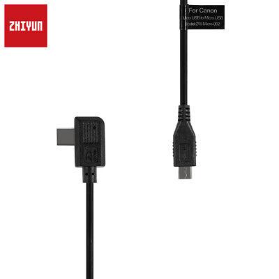 ZHIYUN Crane 2 Gimbal Micro USB Camera Control Cable for Canon EOS SLR Camera