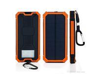 2 in 1 solar power bank BRAND NEW