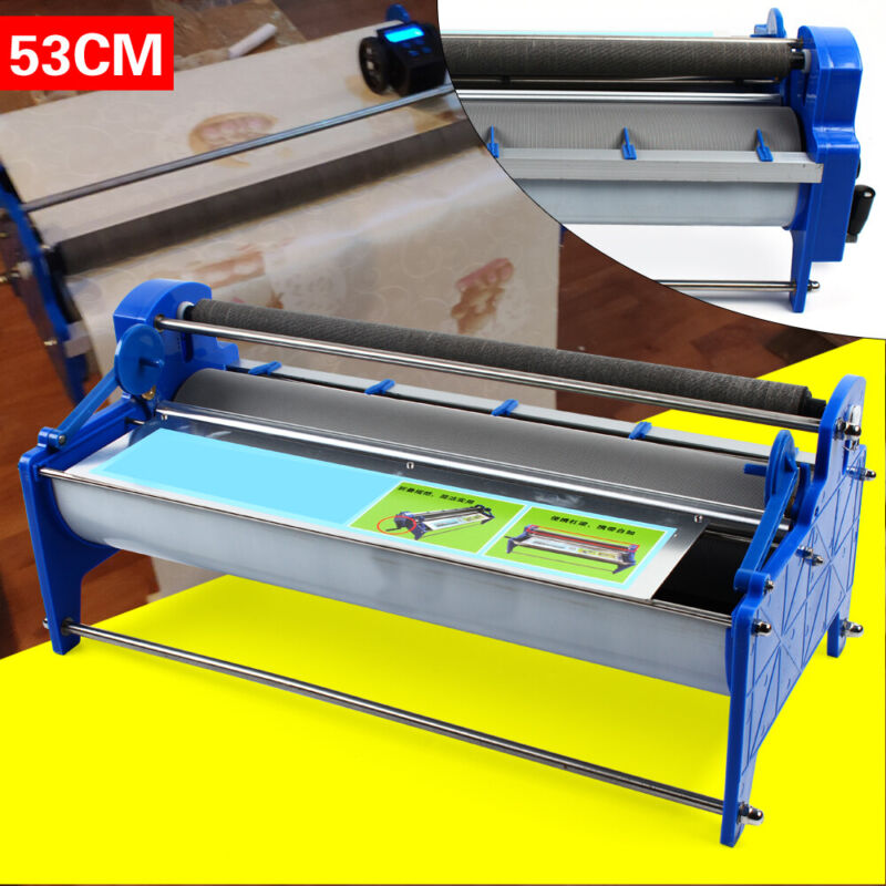 53cm Manual Gluing Coating Machine Wallpaper Roller thick glue Paste application