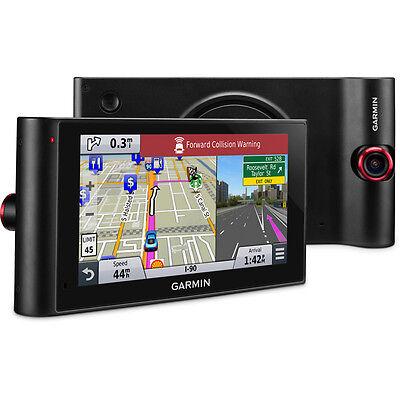 "Garmin nuviCam LMTHD 6"" GPS Navigation Built-in Dashcam Maps HD Traffic Refurb"