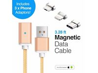 Magnetic charging charger usb cable iPhone type c micro