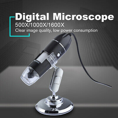 1600x Usb Digital Microscope Endoscope Magnifier Camera For Iphoneandroid Phone