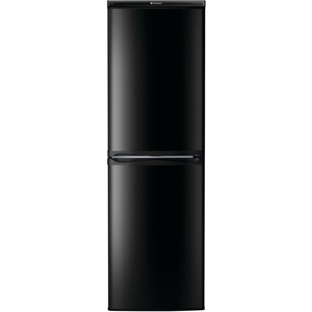 Black hotpoint fridge freezer