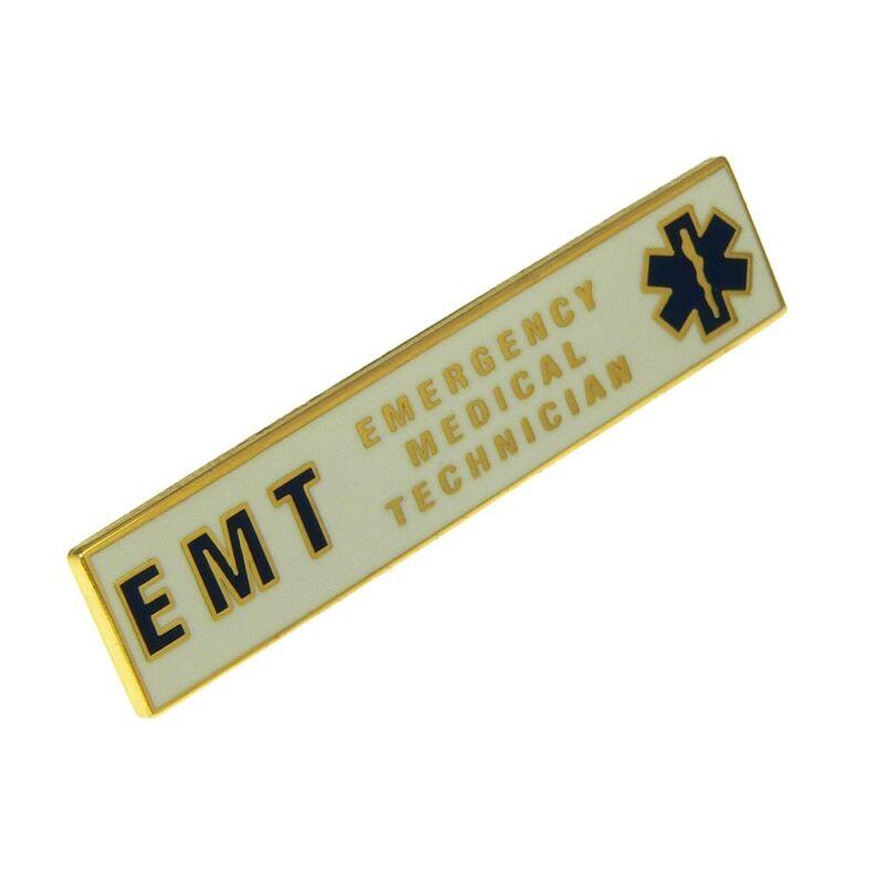 EMT Citation Bar Emergency Medical Technician Merit Award Commendation Lapel Pin