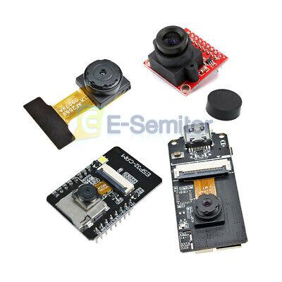 Esp32-cam Ov2640 2.0mp Mini Camera Module 3.3v Usb Type-c Diy Board For Arduino