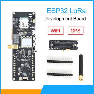 For Ttgo T-beam Esp32 Lora Wireless Rev1 Wifi Gps Module Board With Battery Base