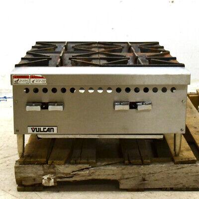 Vulcan Vcrh24-1 24 4-burner Gas Countertop Range Hot Plate 100000 Btu