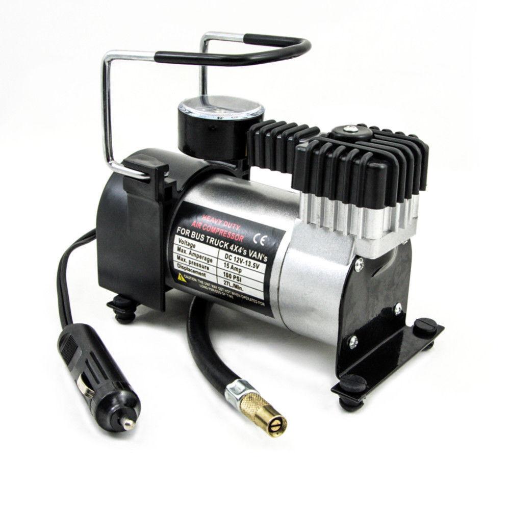 Compressore aria per auto portatile 12V