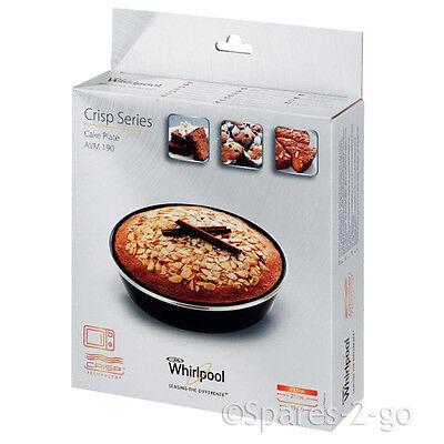 WHIRLPOOL Crisp Cake Plate Ferrite Microwave Oven Bake Crisp