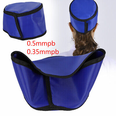 X-ray Blue 0.5mmpb Shield Head Protection Soft Lead Cap Radiation Safety New Us