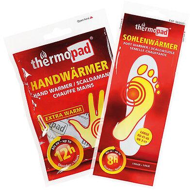 Thermopad Wärme Kombi Set 5x Handwärmer 5x Sohlenwärmer