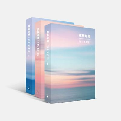 BTS 花樣年華 THE NOTES 1 3SET Ver Book+Tracking Code