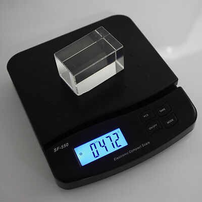 New 55lb 25kg1g Portable Digital Electronic Scale Shipping Postal Scales
