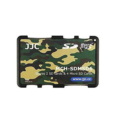 Speicherkartenetui für 2x SD & 4x Micro SD Speicherkarte von JJC (military)