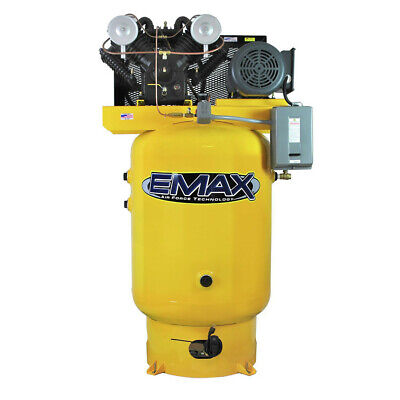 Emax Ep10v120v1 10 Hp 120 Gal. Vertical Industrial Air Compressor New