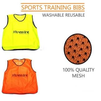 TRAINING BIBS **FITNESS LINE** SPORTS TRAINING EQUIPMENT BIBS Revesby Bankstown Area Preview