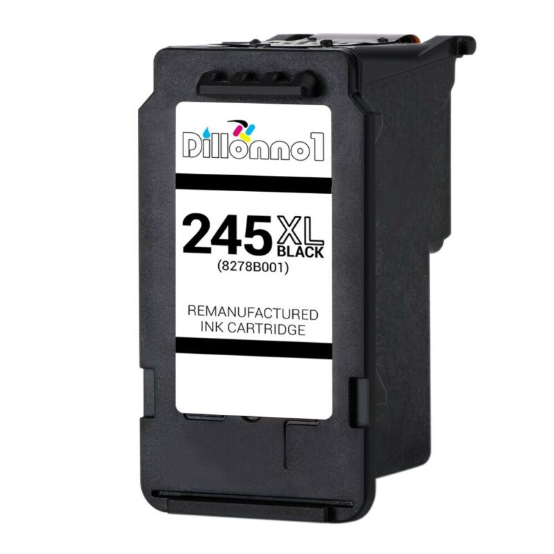 PG245 XL Black Ink Cartridge For Canon PIXMA MG2920 MG2922 MG2924 MX490 MX492