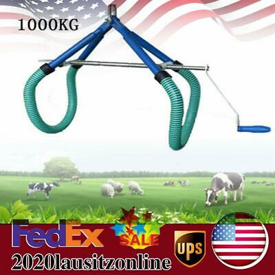 Cow Hip Lift Ob Calving Milking Birthing Lame Cow For Emergencies 1000kg Us