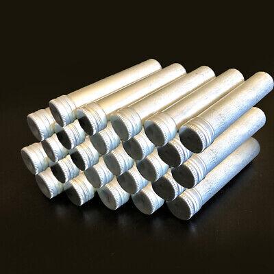 42pcs Aluminum Test Tube With Screw Cap Bottle Preroll Packaging Tube