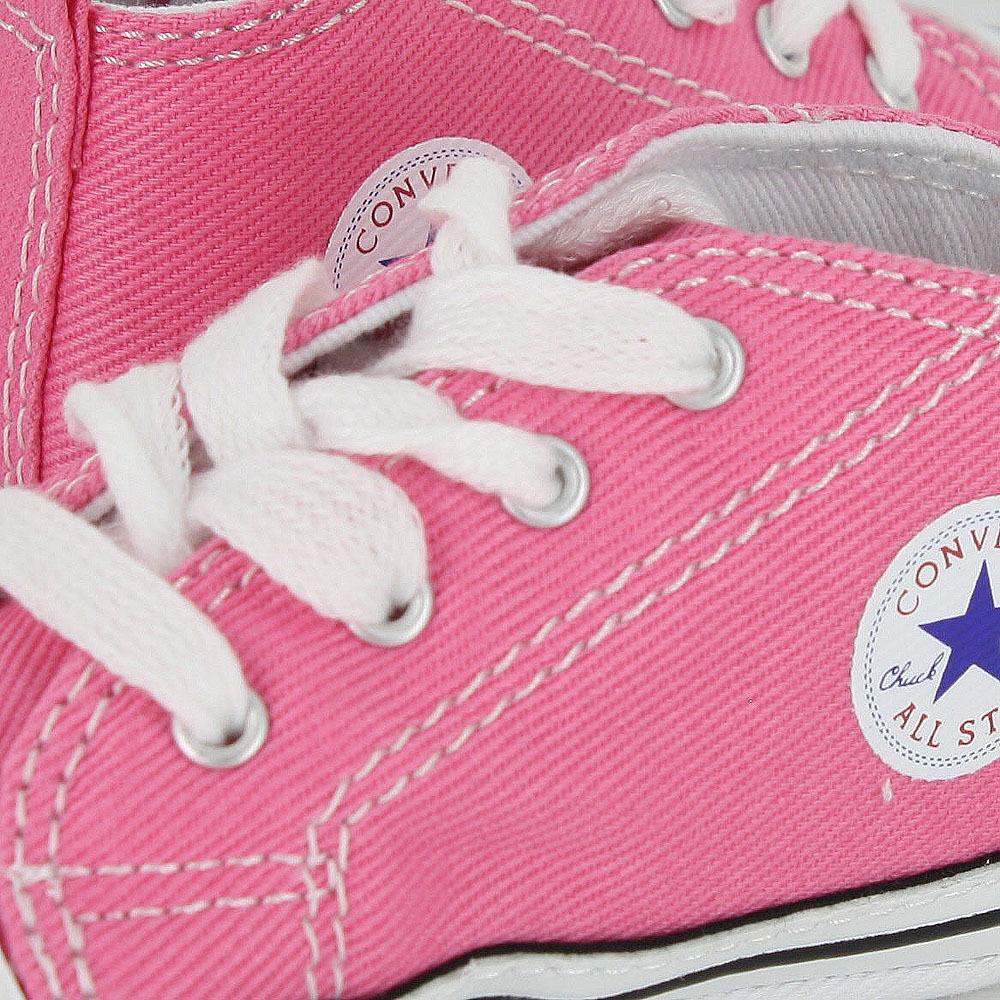 ac16d87d7e020b ... CONVERSE NEWBORN CRIB BOOTIES Pink 88871 FIRST ALL STAR BABY SHOES SZ 1-4  фото