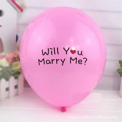 Will You Marry Me Balloons (100 pieces 12