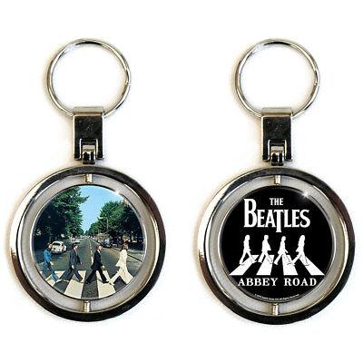 The Beatles Abbey Road Metal Spinner Keyring (ro)